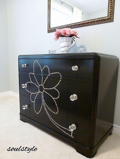 Guest Bedroom Furniture Dresser Bling And Paint Furniture