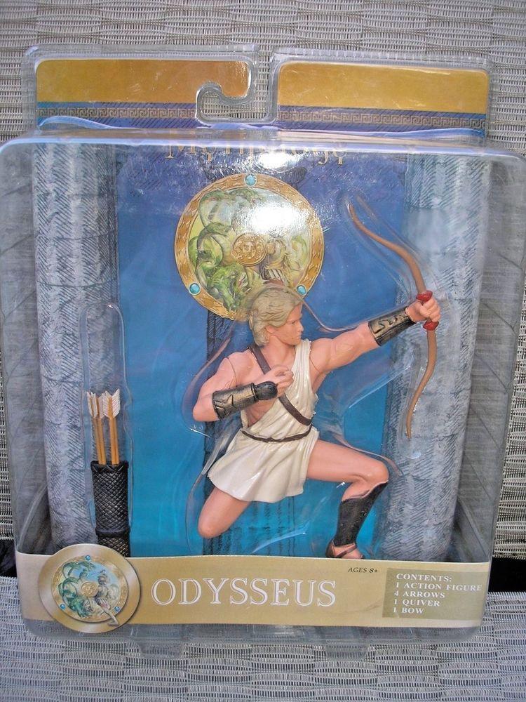 Greek Mythology Odysseus Action Figure Ologyworld Toys 2007 Sababa Toys Mythology Greek Mythology Action Figures
