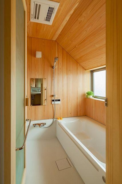 木の香りの風呂 中里のひとり言 浴室 間取り 浴室 デザイン 浴室 インテリア