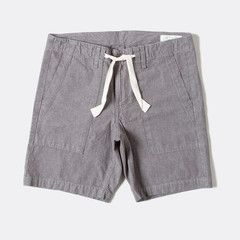 Rag & Bone's surf short is the perfect casual addition to your summer wardrobe. Whether you're beach-bound or hanging around town, these shorts are casual and comfortable with just the right amount of detailing. Trouser pockets and contrasting rope-tie waist. Slightly relaxed fit. 100% cotton. Machine wash inside out in cold water. Made in the United States.