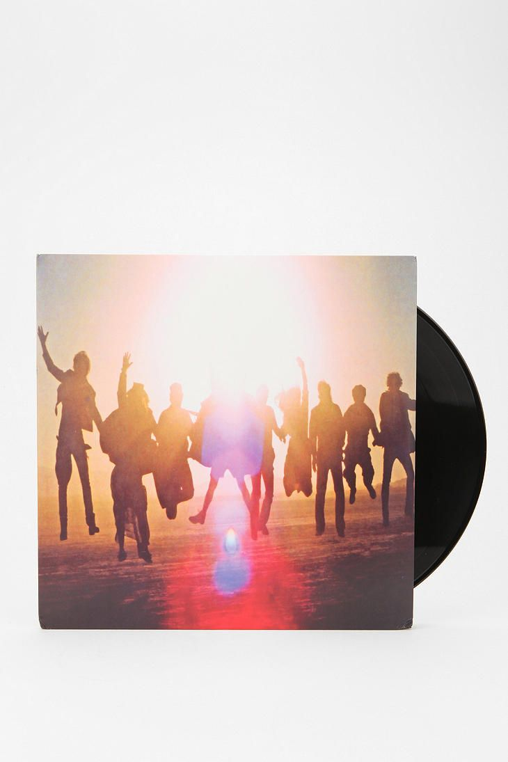 My Dad is saving all his old records for me ;-)   Edward Sharpe And The Magnetic Zeros - Up From Below 2xLP