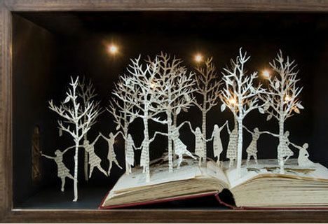 Exquisite Paper Craft Artists...this one: Su Blackwell