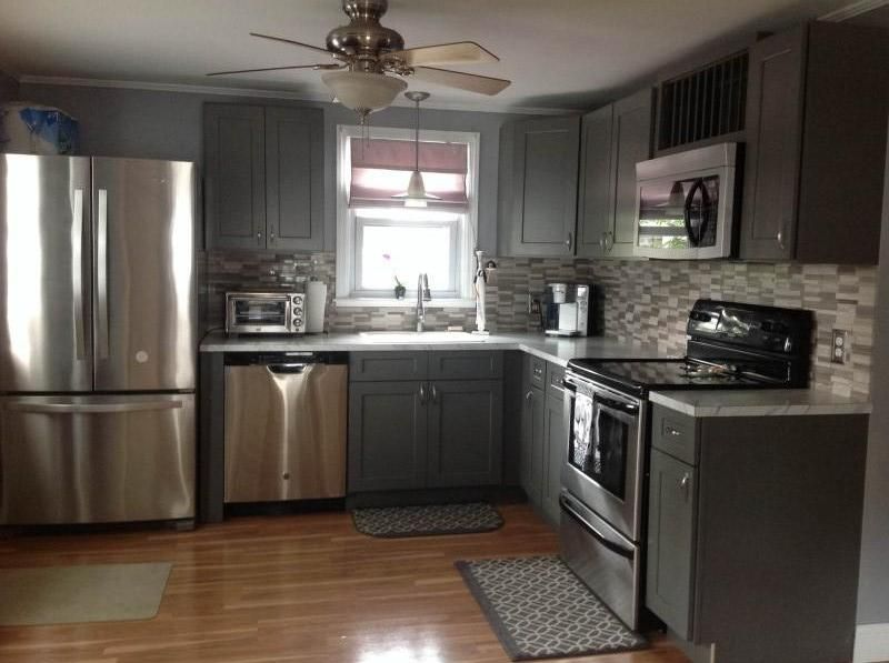Stone Grey Shaker Kitchen Cabinets Grey Shaker Kitchen Shaker Kitchen Cabinets Grey Kitchen
