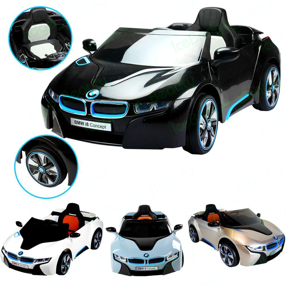 Bmw I8 Electric: Details About OFFICIAL LICENSED BMW I8 12V ELECTRIC RIDE
