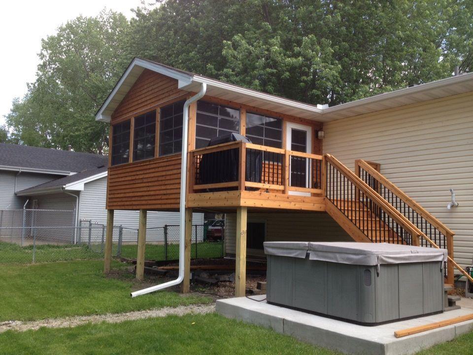 4 Season Porch House With Porch Porch Plans Three Season Porch