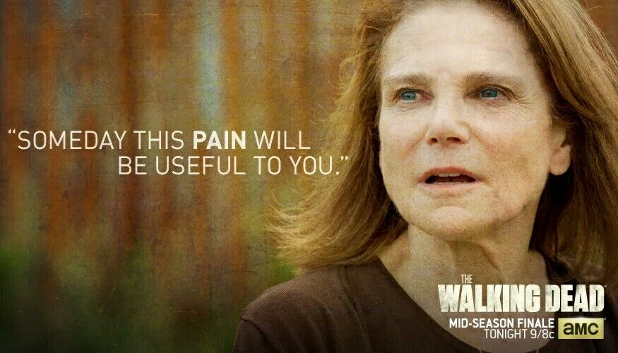 Image result for this pain will be useful to you walking dead