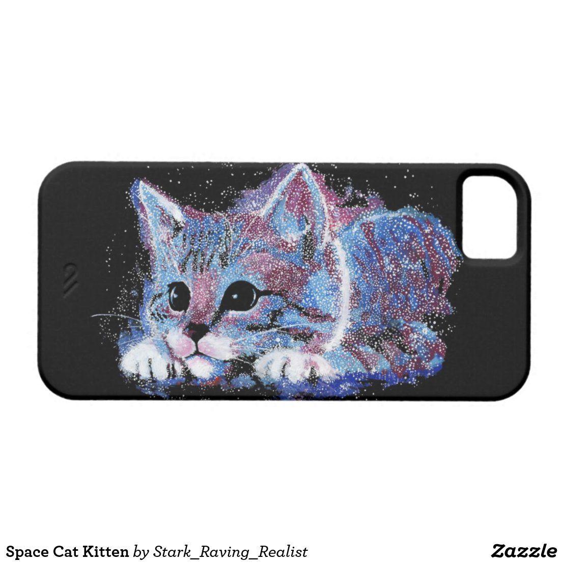 Space Cat Kitten Case Mate Iphone Case Zazzle Com In 2020 Space Cat Cats And Kittens Iphone Cases