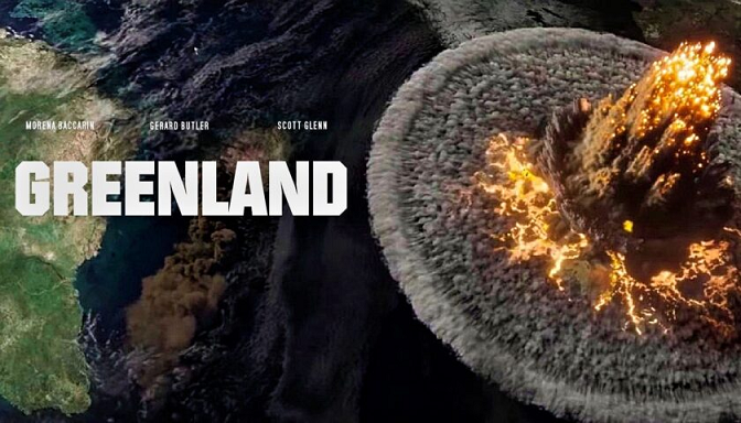 Greenland S Review Survive The Celestial Disasters In 2021 Gerard Butler Hollywood Studio Greenland