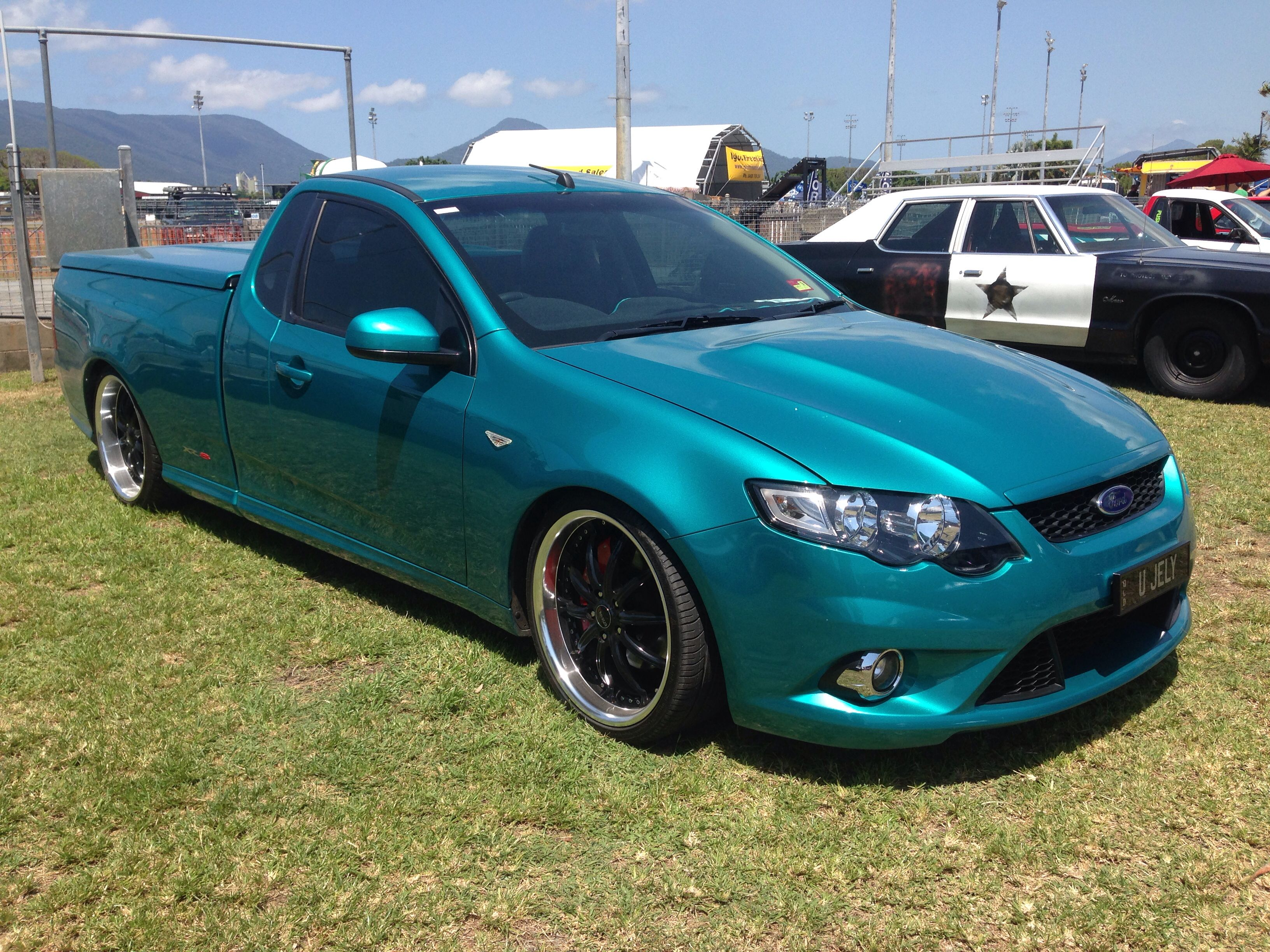 Ford Fg Xr8 Falcon Ute Ford Trucks Aussie Muscle Cars Old School Cars