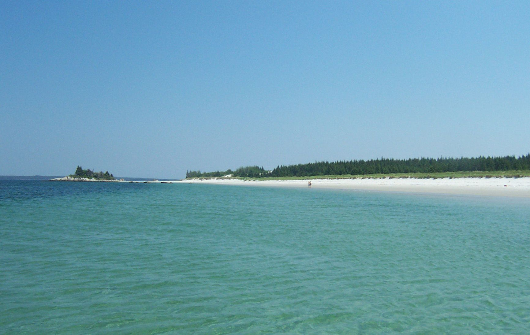Port Mouton Island Beach Is Only Accessible By Boat It Is An