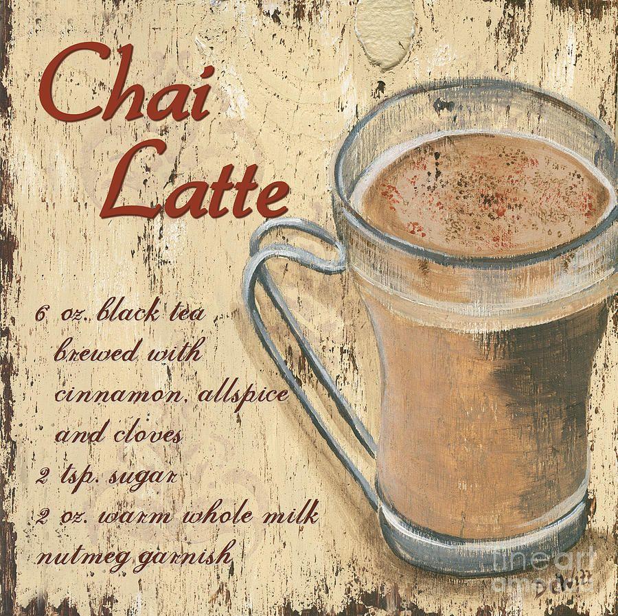 chai latte painting rezept ideen pinterest verschiedenes kreativ und rezepte. Black Bedroom Furniture Sets. Home Design Ideas