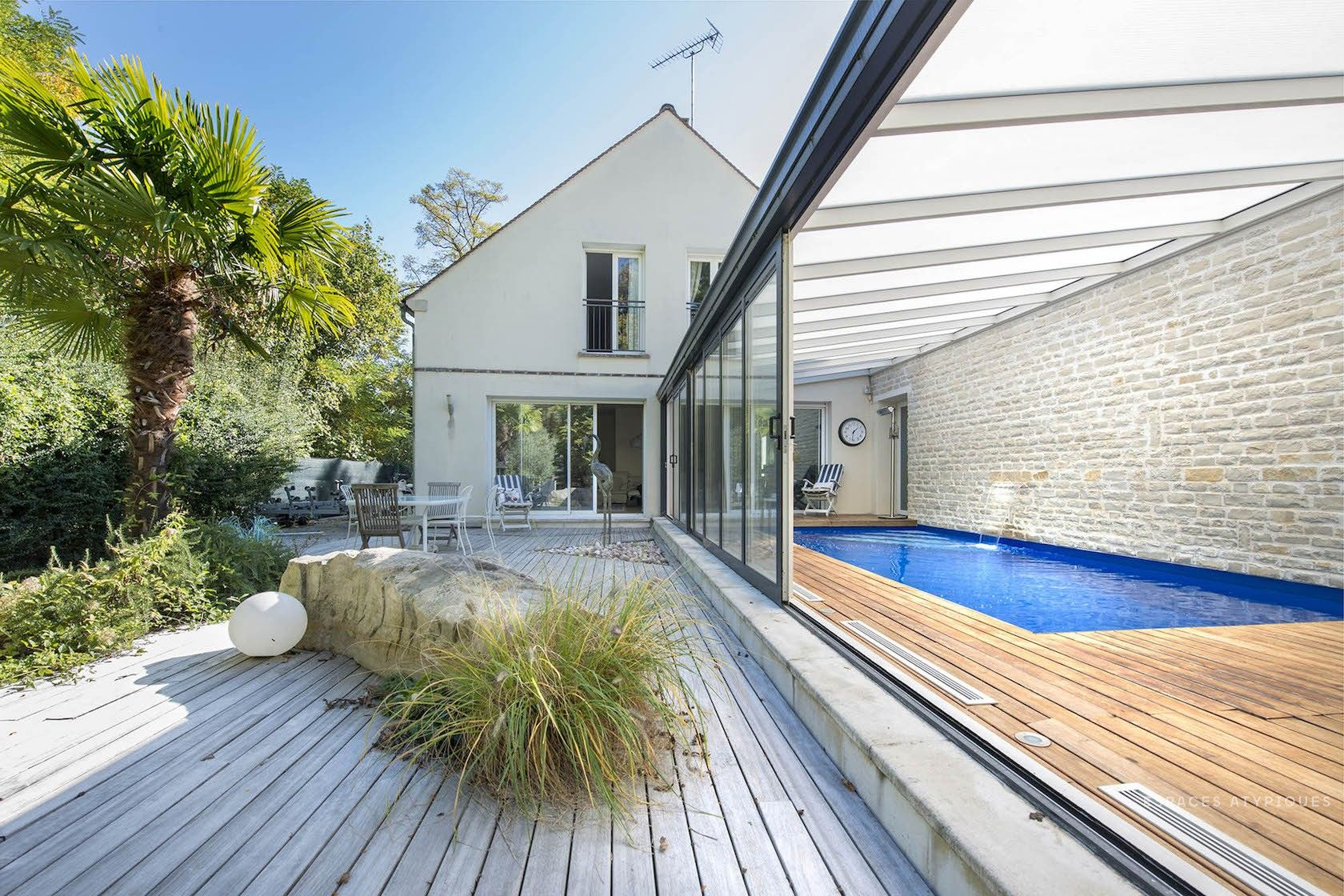 Villa D Architecte De 250m2 Avec Piscine 10mn De Fontainebleau
