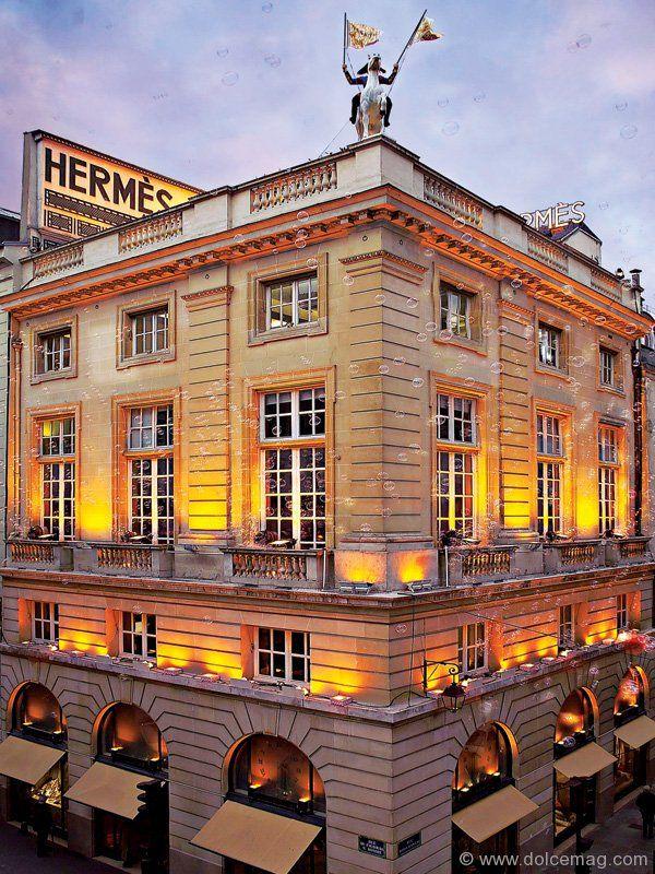 herm s flagship store 24 rue du faubourg saint honor. Black Bedroom Furniture Sets. Home Design Ideas