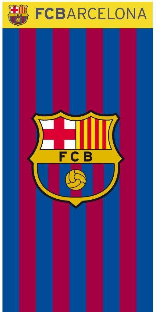Strandlaken - Voetbal - FC Barcelona Stripes  204c994dd83