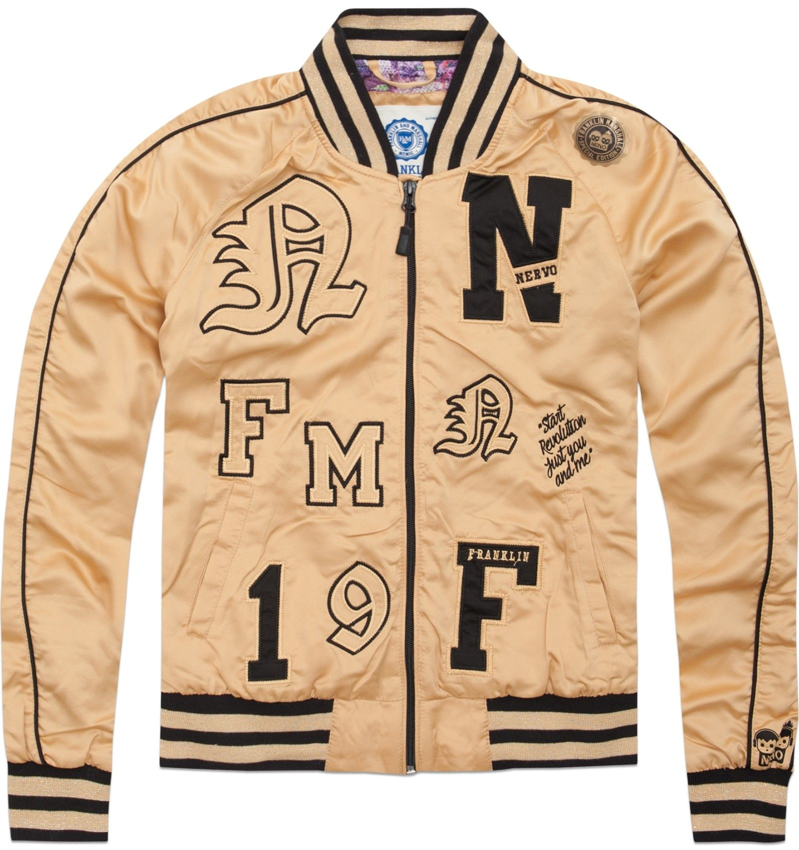 reputable site cf423 3666f NERVO Capsule - Women's varsity style jacket | Graphic ...
