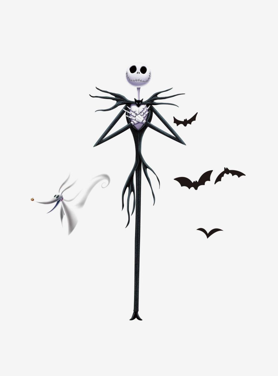 The Nightmare Before Christmas Jack Peel And Stick Giant Wall Decals Nightmare Before Christmas Tattoo Nightmare Before Christmas Drawings Nightmare Before Christmas Wallpaper