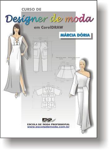 14ef81e1f Cursos de designer de moda em CorelDraw da Escola de Moda Profissional