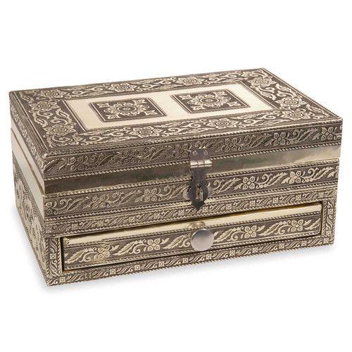 boîte à bijoux en métal goldkampala une autre magnifique boîte