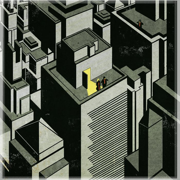Los Angeles Times Book Review Emiliano Ponzi Architecture Drawing Book Review Los Angeles