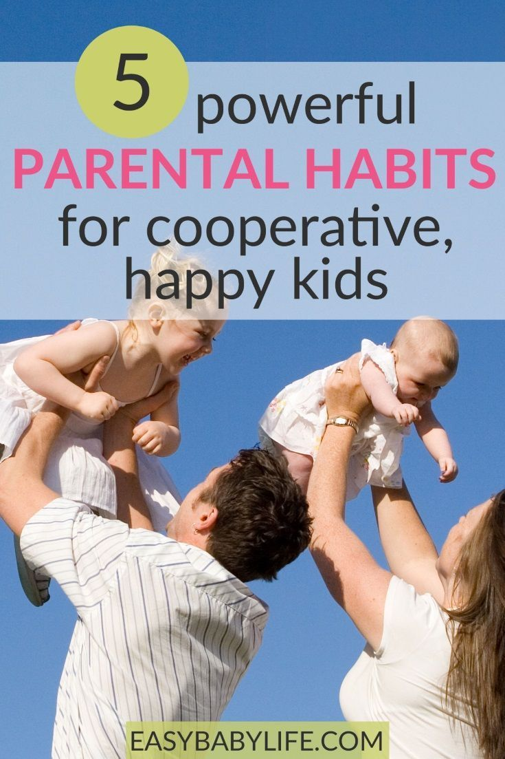 5 Powerful Parental Habits for Cooperative, Happy Kids with a Feeling of Self Worth! #bondingwithchild