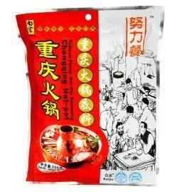 Traditional Baijia - Chongqiong Hot-pot 7.05oz z (pack of 1), ,