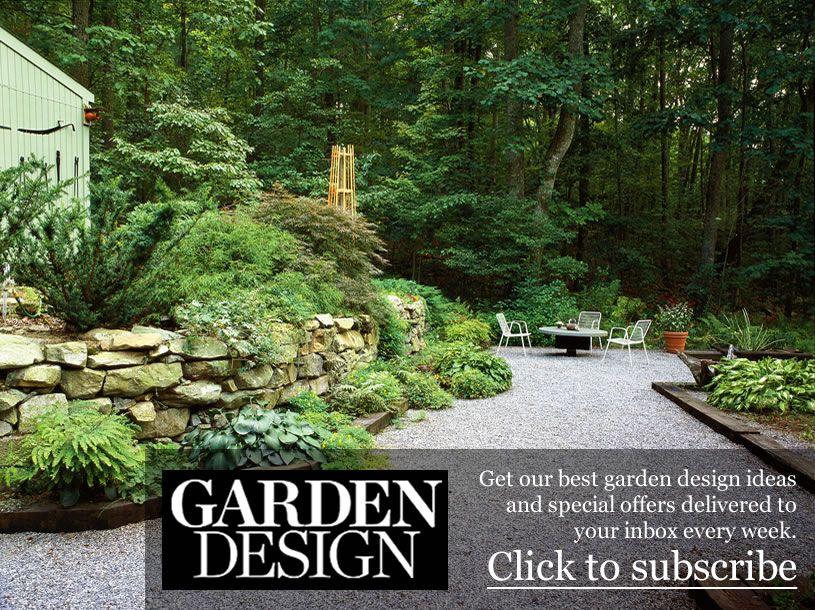 Newsletter Sign Up Garden Design Garden Design Magazine Garden