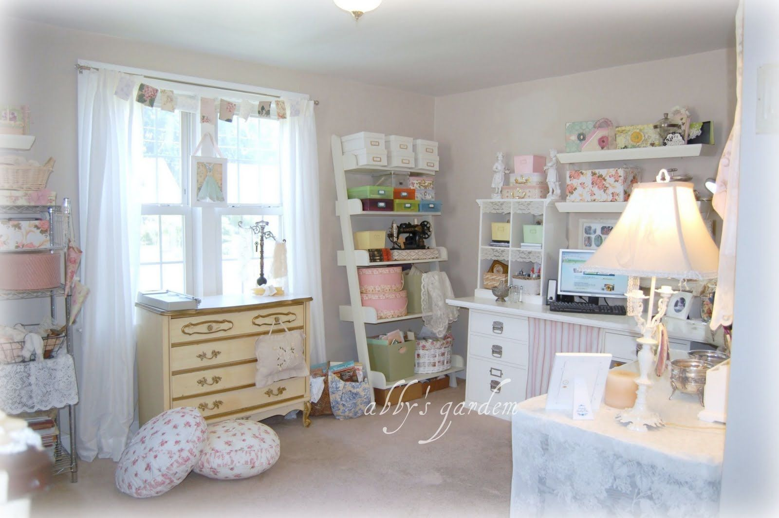 Totally feminine sewing room ideas pinterest embroidery