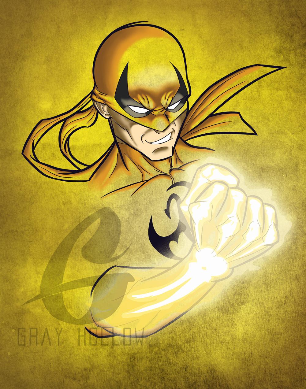 Iron Fist Fanart On Behance Iron Fist Marvel Superhero Wallpaper Iron Fist