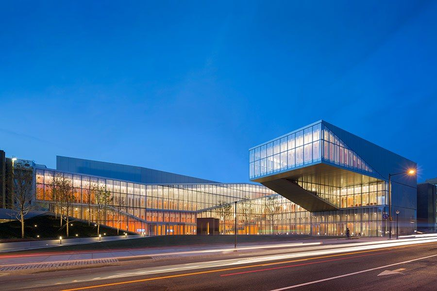 The 9 best new university buildings around the world for Architecture firms in philadelphia