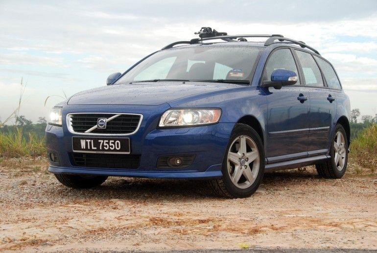 410 Gone Volvo V50 Volvo Cars Blue Car