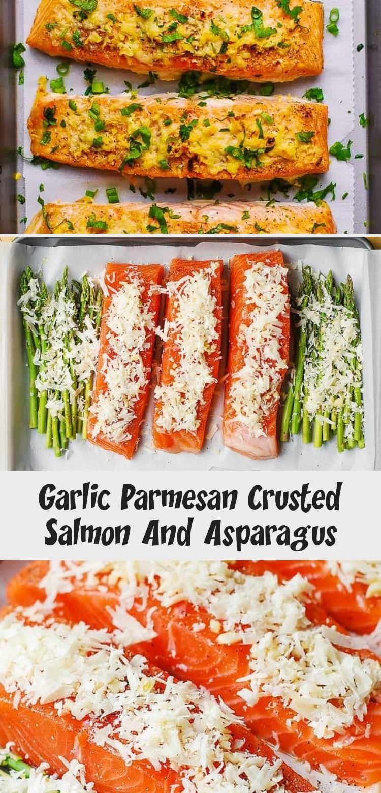 Garlic Parmesan Crusted Salmon and Asparagus - easy, healthy, gluten free dinner (seafood, fish recipes) #healthyfoodrecipescleaneatingFoodies #healthyfoodrecipescleaneatingDinners #healthyfoodrecipescleaneatingFitness #healthyfoodrecipescleaneatingHealth #healthyfoodrecipescleaneating21DayFix #garlicparmesanshrimp