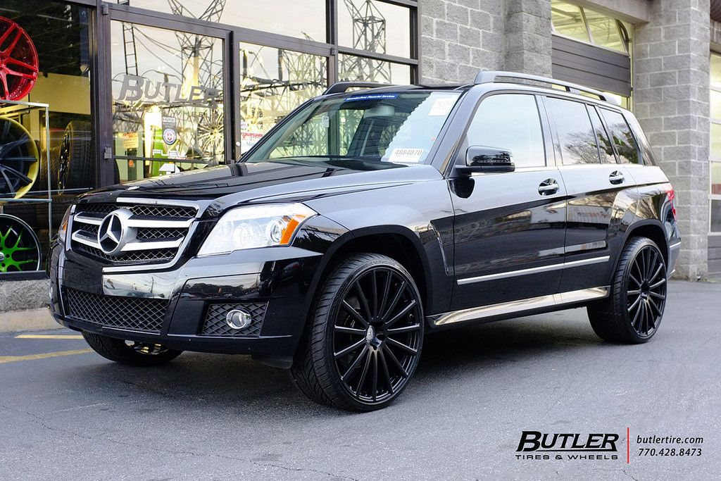 Mercedes Glk350 With 22in Mandrus Rotec Wheels Mercedes Glk Mercedes Glk 350 Mercedes