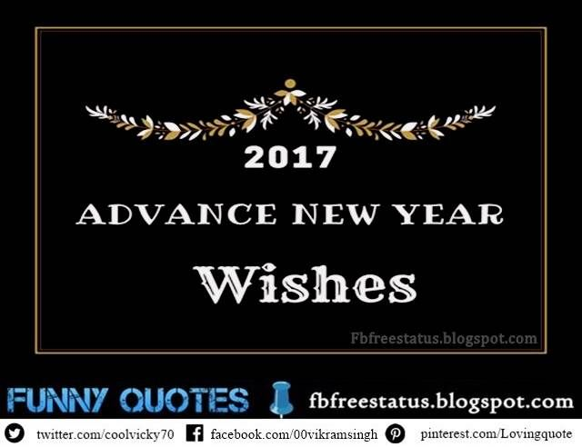 advance happy new year messages advance happy new year wishes