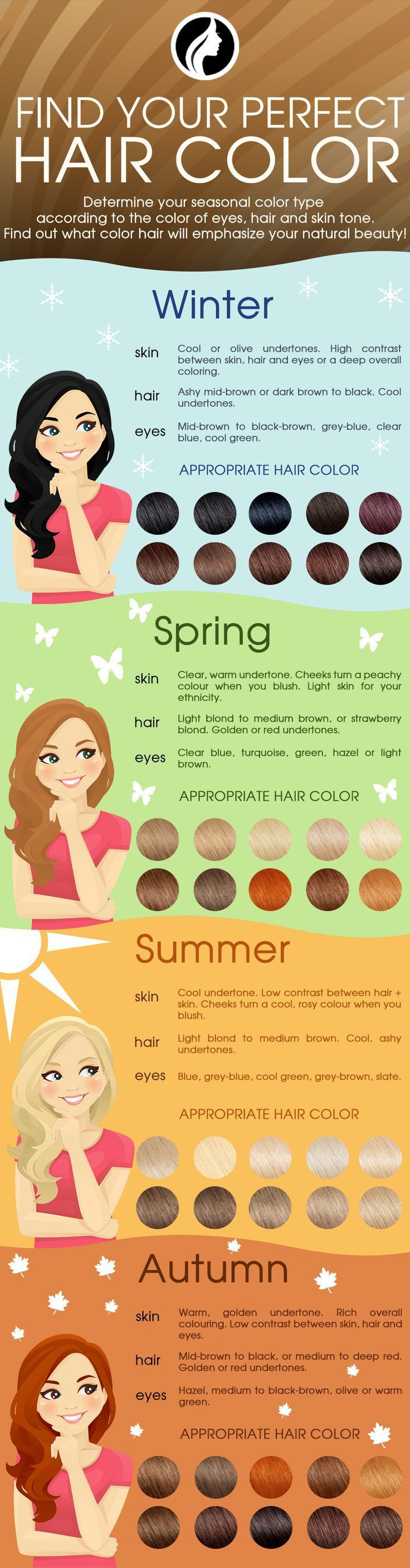 COLOR THAT COMPLEMENTS Hair color + skin tone, a match for every ...