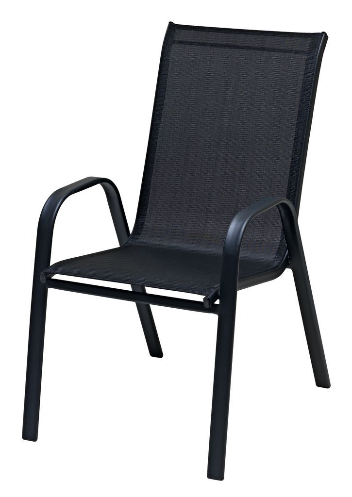 Stacking Chair Leknes Steel Textilene Jysk Http Www Uk Rattanfurniture Com Product Swing Set