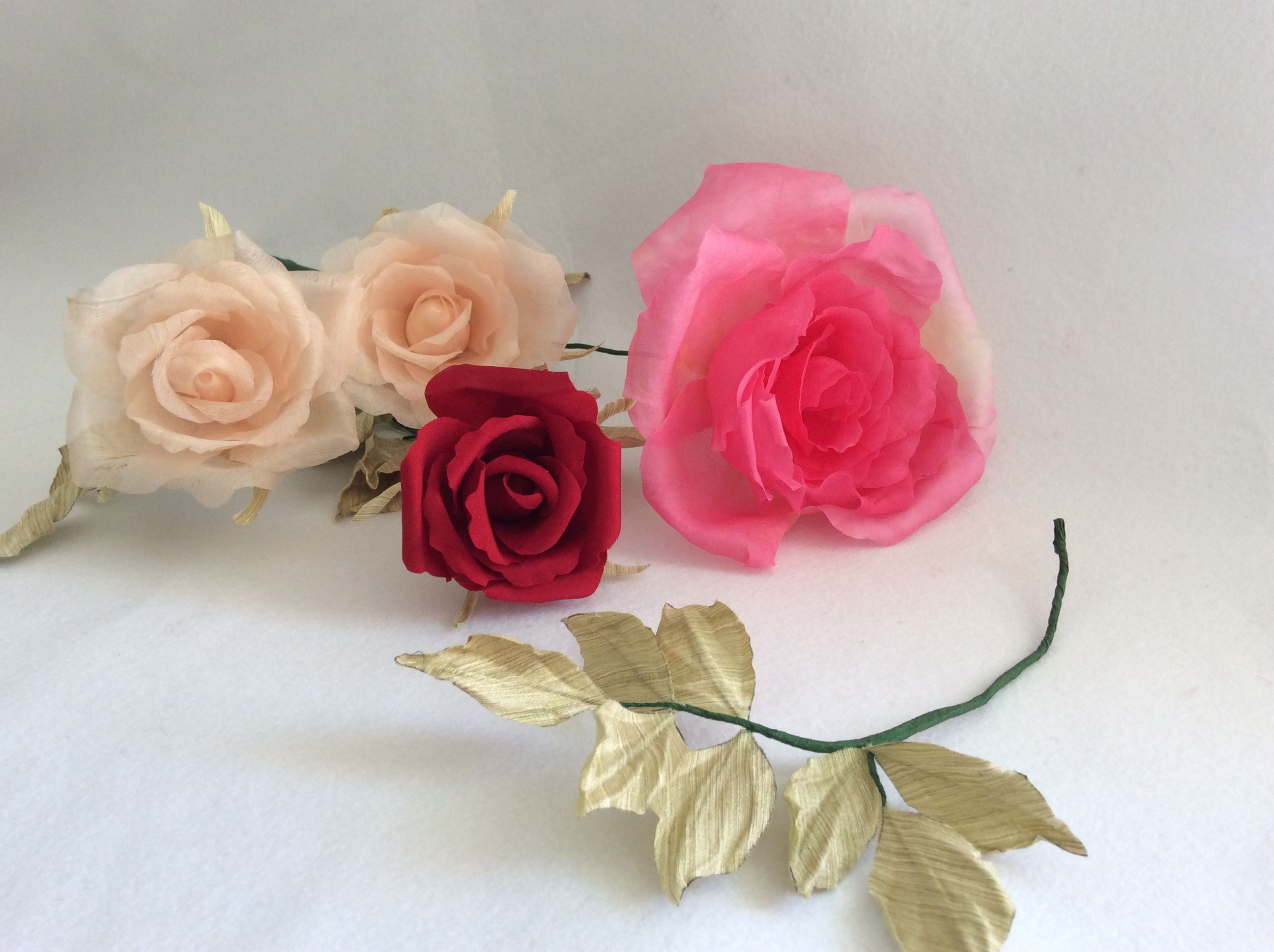 Learn To Make Your Own Silk Flowers Flower Making Workshops Held