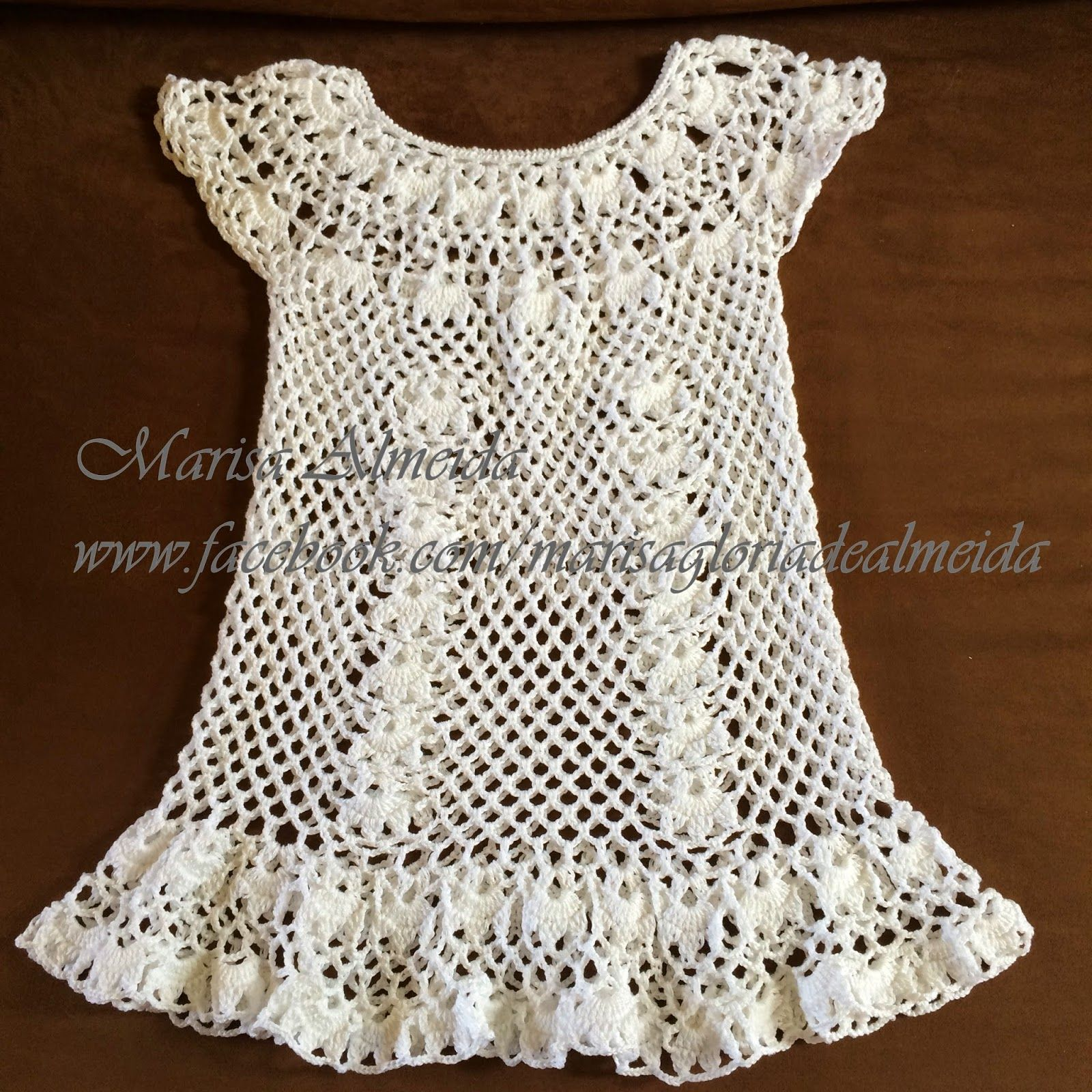 Marisa Almeida Tricot Crochet   Saída Praia Crochet  05abf2fa88e