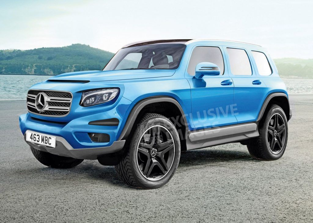 Mfa2 Based Mercedes Glb Suv Coming To 2019 Toyota Suv Mercedes