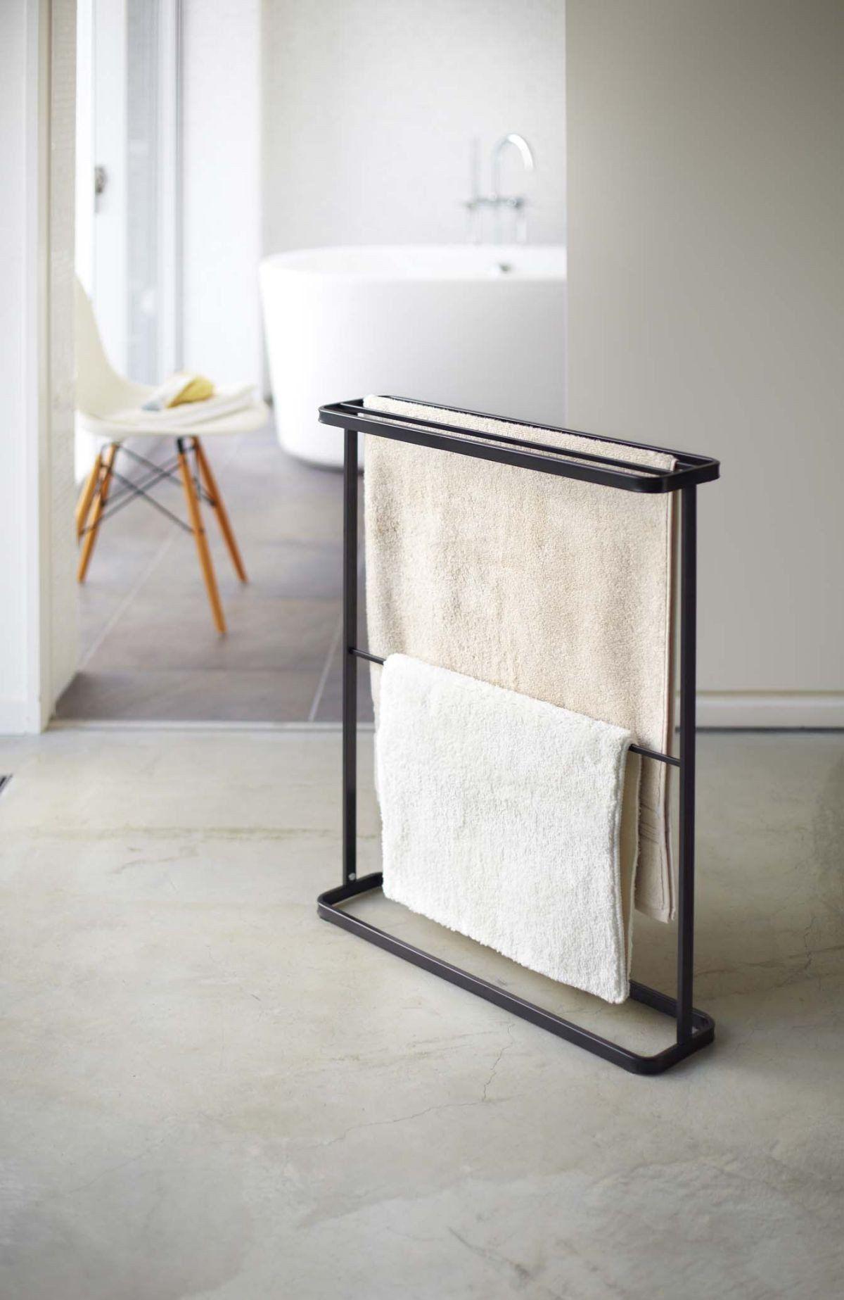 Tower Bath Towel Hanger in Various Colors design by Yamazaki ...