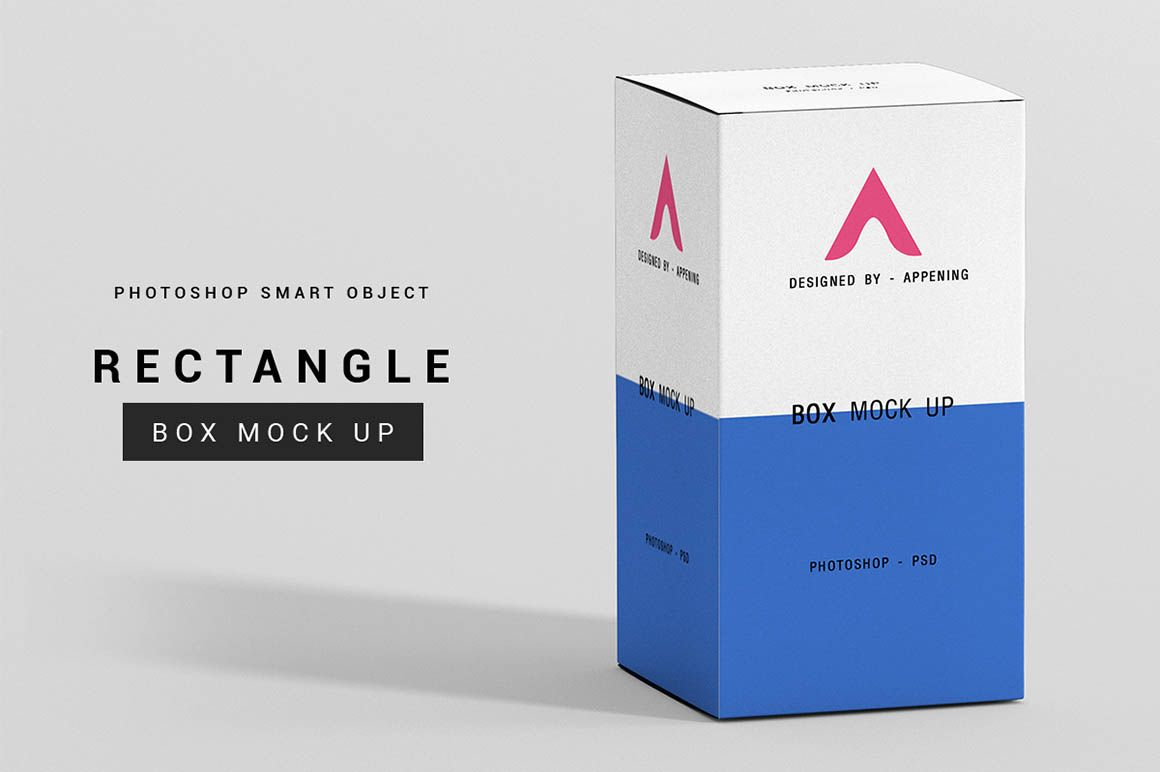Download Free Rectangle Box Mockup Dealjumbo Com Discounted Design Bundles With Extended License Box Mockup Free Boxes Packaging Mockup