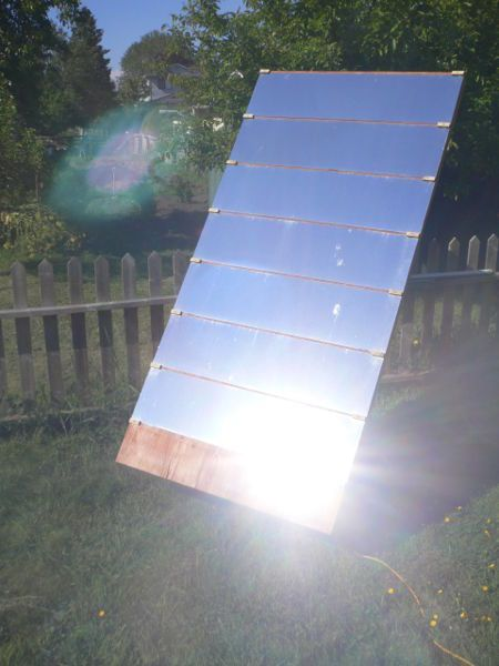 How to build a heliostat for solar heating and lighting - Panneau Solaire Chauffage Maison