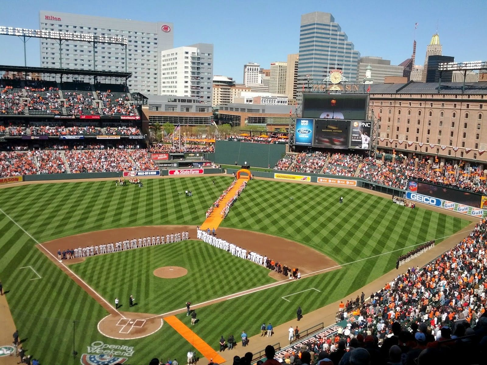 Our Ballpark Oriole Park At Camden Yards Is Stunning Camden Yards Baltimore Orioles Baseball Orioles Baseball