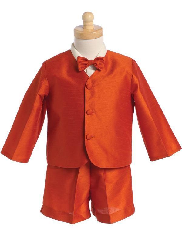 Pretty Me Kaifer Little Boys Toddler 5-Piece Tuxedo