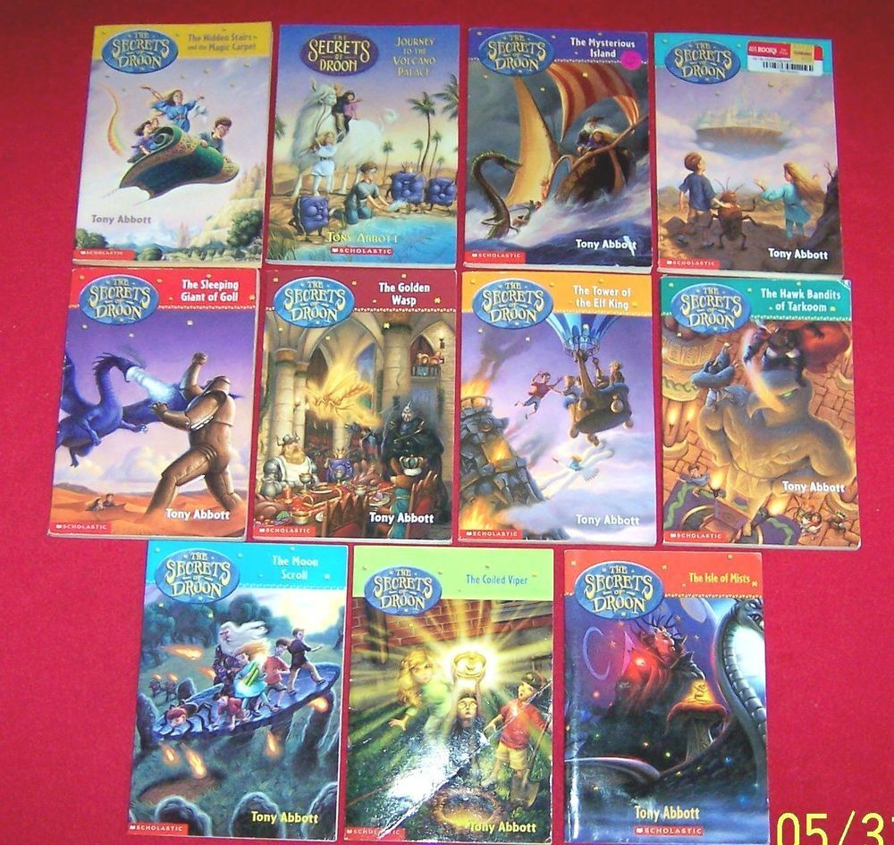 11 The Secrets Of Droon Books~readers~series~tony Abbott~age 7