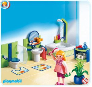 Playmobil City Life 4285 Family Bathroom New Playmobil Eckwanne Spielzeug