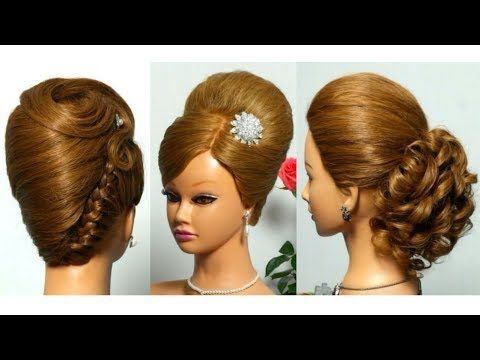Braided Updo Bridal Prom Hairstyle For Long Hair Tutorial Youtube Long Hair Styles Long Hair Tutorial Hair Styles