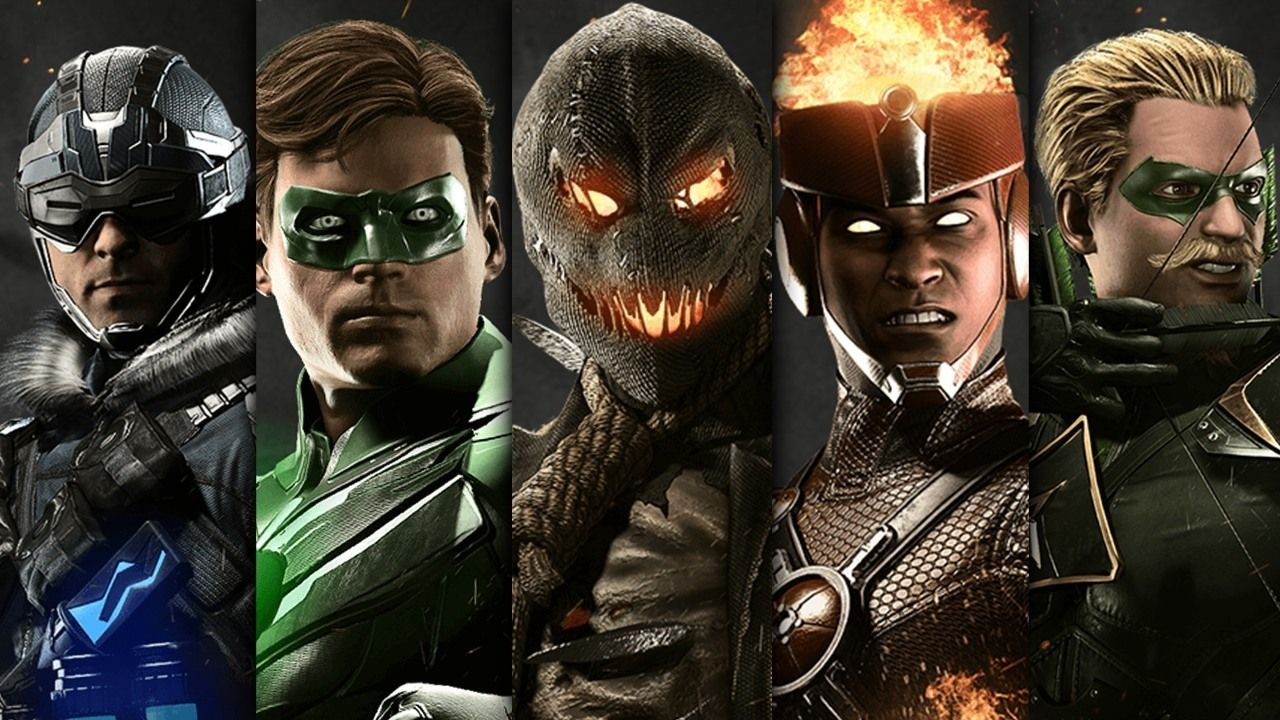 Every Injustice 2 Character Revealed So Far March 2017 Doctor Fate Firestorm Green Arrow Green Injustice 2 Characters Injustice 2 Injustice 2 All Characters