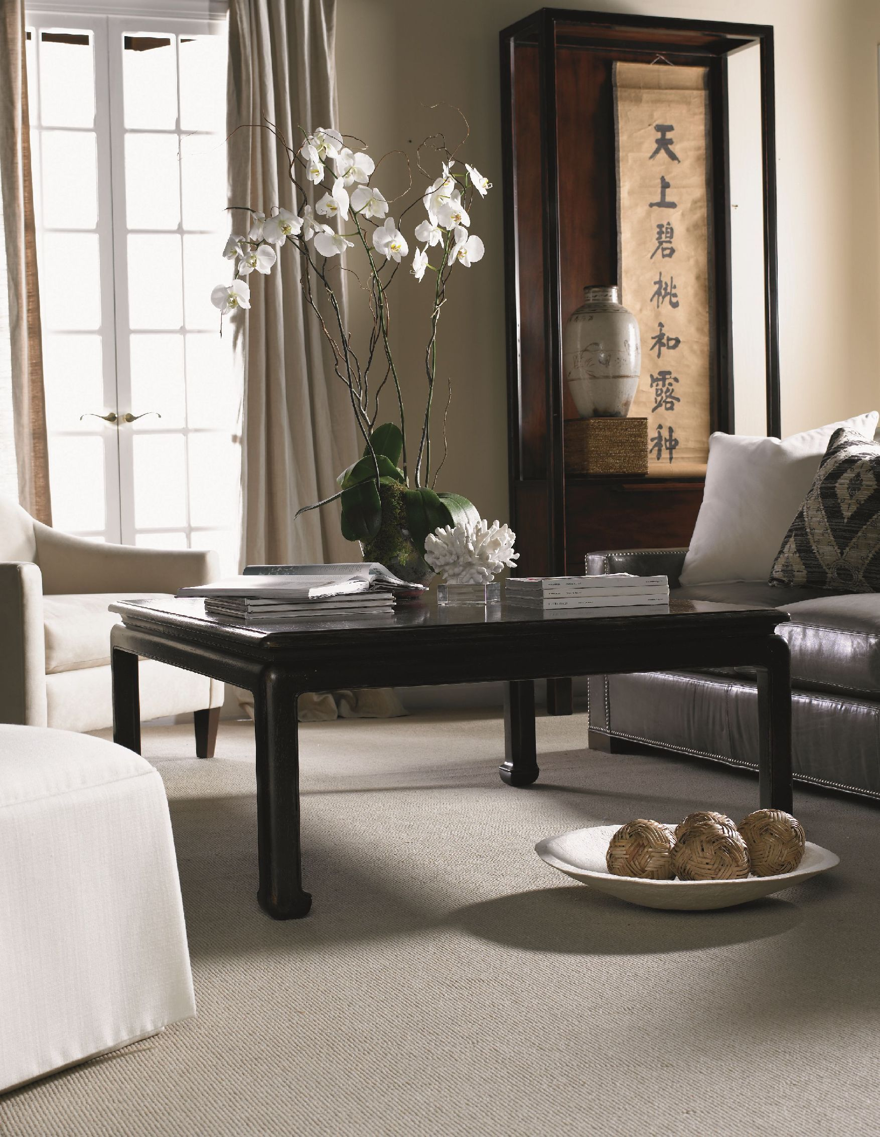 Hickory White Cth Living Room Cocktail Table 960 416 Hickory
