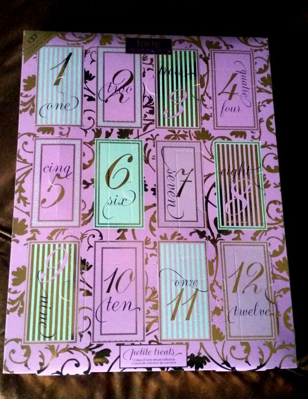 Tarte 12 Day Advent Calendar The Beauty Section Christmas Makeup Look Christmas Makeup Beauty Treats