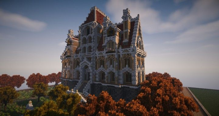 Baroque Concept Minecraft Project 建築 建築 建物 マイン